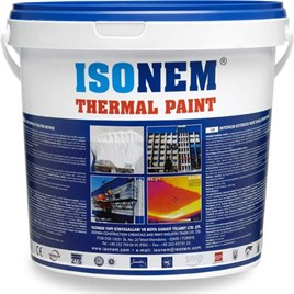 İSONEM THERMAL PAİNT 5 LT. BEYAZ